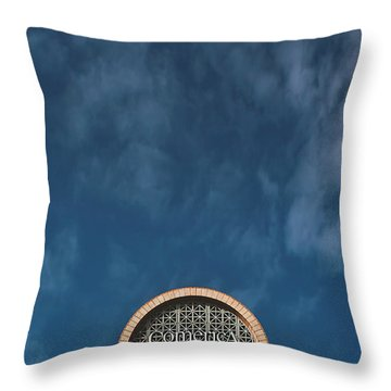 Personification Throw Pillow