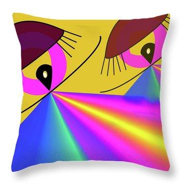 Perspektive Throw Pillow by Helmut Rottler
