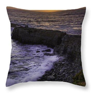 Pescadero Sunset Throw Pillow