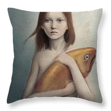 Pet Portrait Throw Pillows