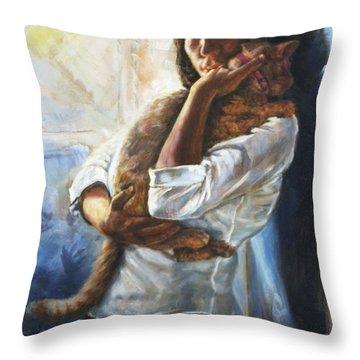 Pet Love Throw Pillow