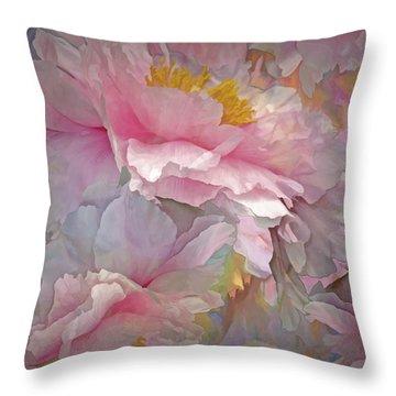 Petal Dimension 20 Throw Pillow