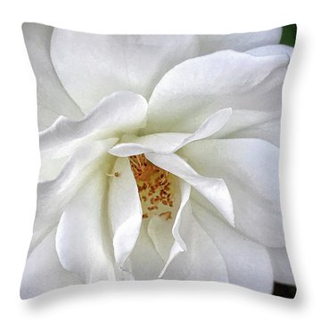 Petal Envy Throw Pillow