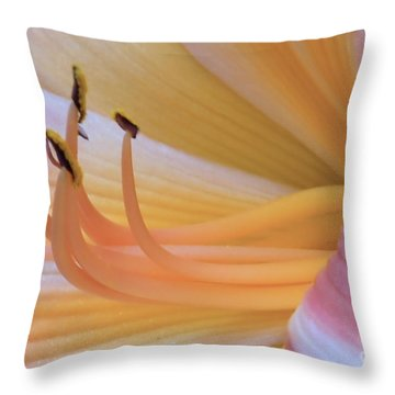Petals And Stamens Throw Pillow