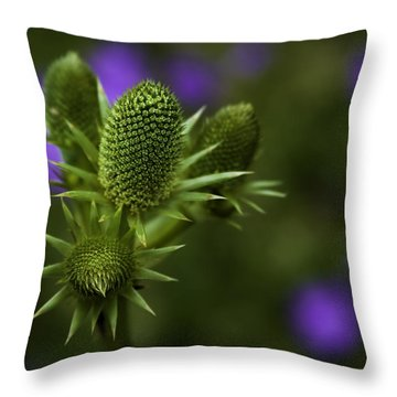 Petals Lost Throw Pillow