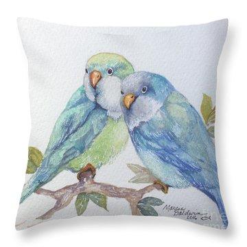 Pete And Repete Throw Pillow