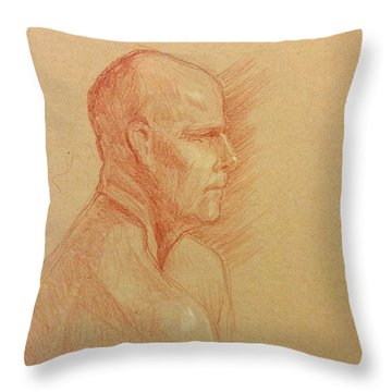 Peter #2 Throw Pillow