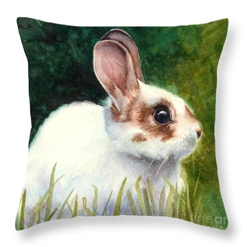 Peter Throw Pillow by Bonnie Rinier