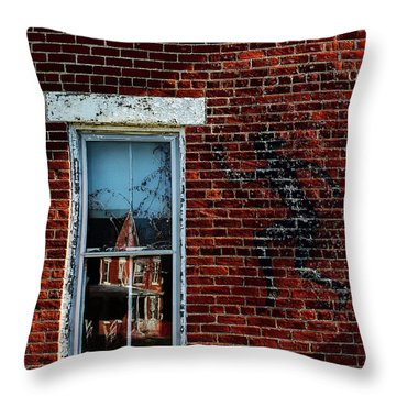 Peter Pan's Shadow Throw Pillow by Scott Meyer