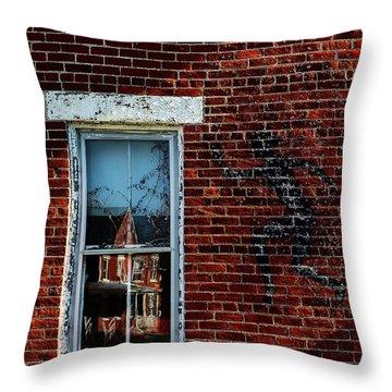 Peter Pan's Shadow Throw Pillow