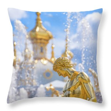 Peterhof Throw Pillow