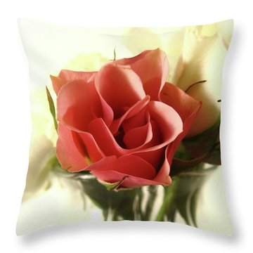 Petite Bouquet Throw Pillow