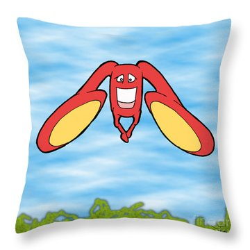 Petontas Throw Pillow