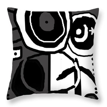 Petro 1 Throw Pillow