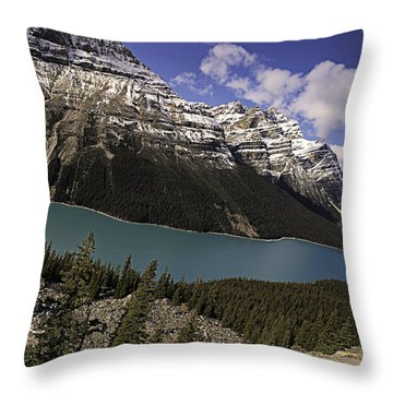 Peyto Lake Throw Pillow