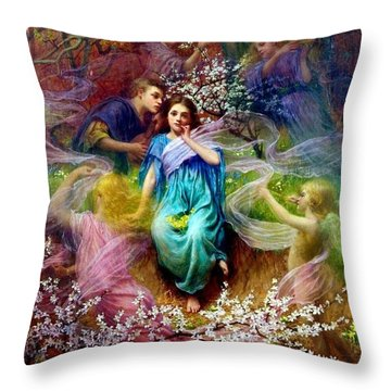 Phantasy Throw Pillow