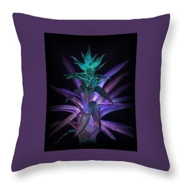 Phantom Bromeliad Throw Pillow