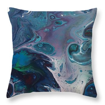 Phantom Of The Sea Throw Pillow