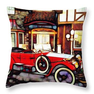 Phantom Rolls Royce 1935 Throw Pillow