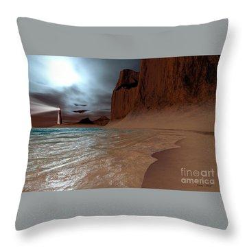 Pharos Throw Pillow by Corey Ford
