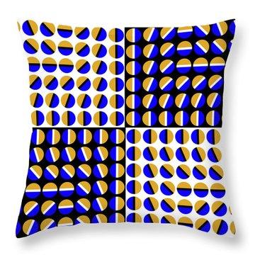 Phases Throw Pillow