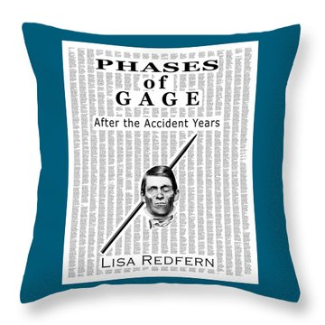 Phases Of Gage Book Poster  Throw Pillow