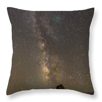 Phases Of Matter Throw Pillow