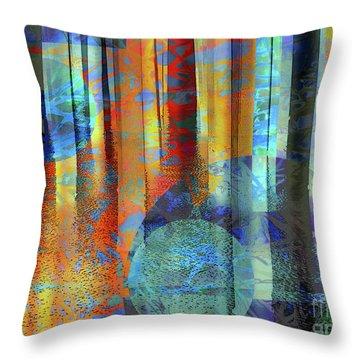 Phasing Through Throw Pillow by Robert Ball