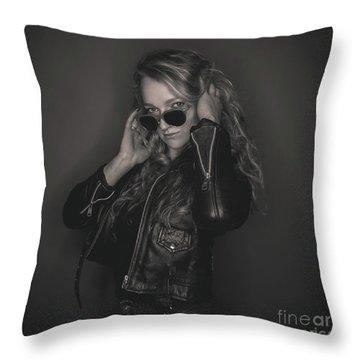 Pheobe 1 Throw Pillow