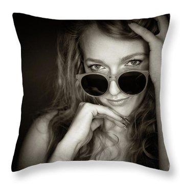 Pheobie 2 Throw Pillow