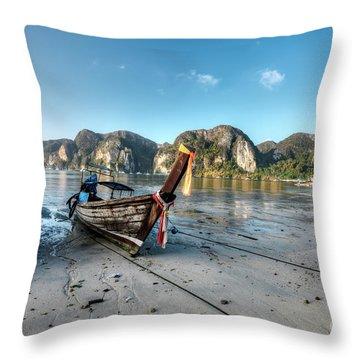 Phi Phi Island Throw Pillow
