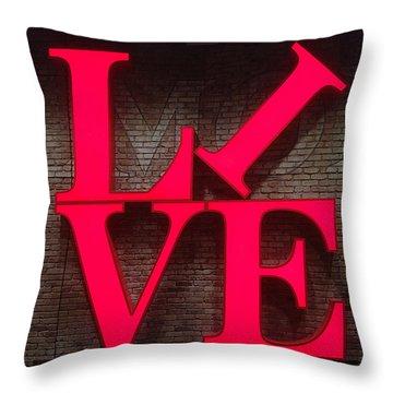 Philadelphia Live Throw Pillow