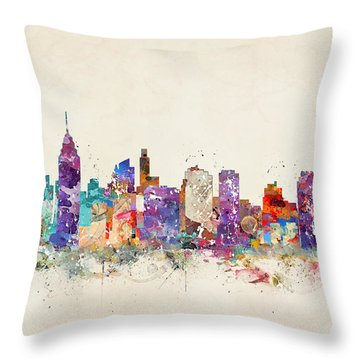 Philadelphia Pennsylvania  Throw Pillow