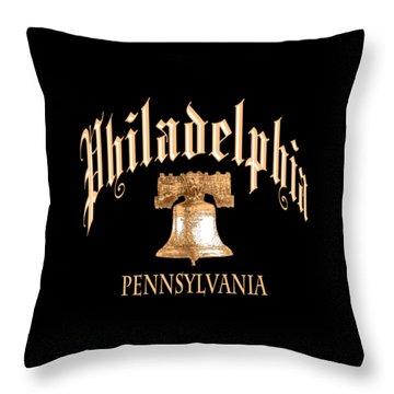 Philadelphia Pennsylvania Design Throw Pillow