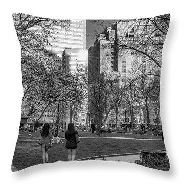 Philadelphia Street Photography - 0902 Throw Pillow