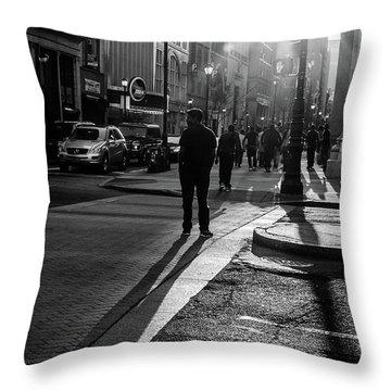 Philadelphia Street Photography - 0943 Throw Pillow