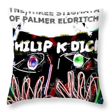 Philip K Dick Poster 2  Throw Pillow