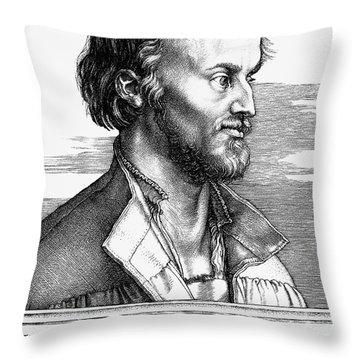 Philipp Melanchthon Throw Pillow by Granger
