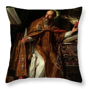 Philippe De Champaigne Throw Pillow