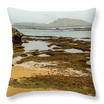 Phillip Island 01 Throw Pillow