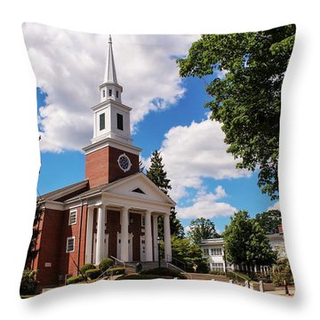 Phillips Stevens Chapel, Williston Northampton School, Easthampton, Ma Throw Pillow