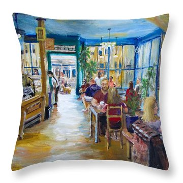 Philz Coffee San Francisco Throw Pillow