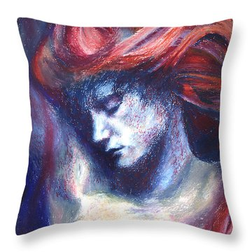 Phoenix Fire Throw Pillow