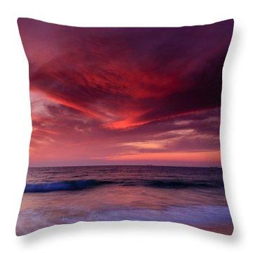 Phoenix Flying Throw Pillow