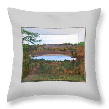Phoenix Lake Throw Pillow