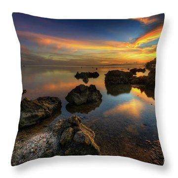 Throw Pillow featuring the photograph Phoenix Nights 4.0 by Yhun Suarez