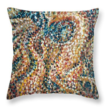 Phoenix Rising Throw Pillow by Jim Rehlin