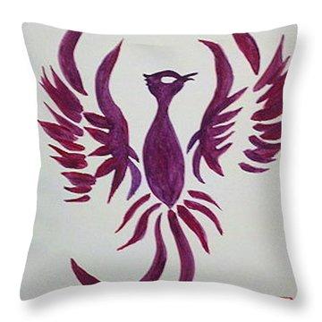 Phoenix Starr Throw Pillow