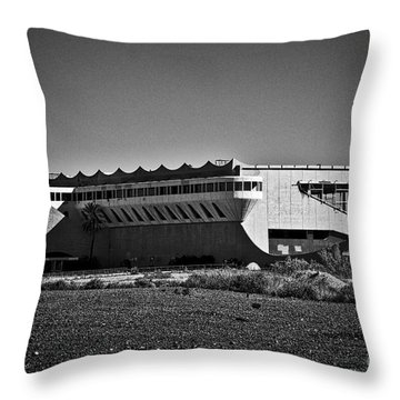 Throw Pillow featuring the photograph Phoenix Trotting Park by Kirt Tisdale
