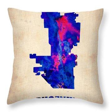 Phoenix Arizona Throw Pillows
